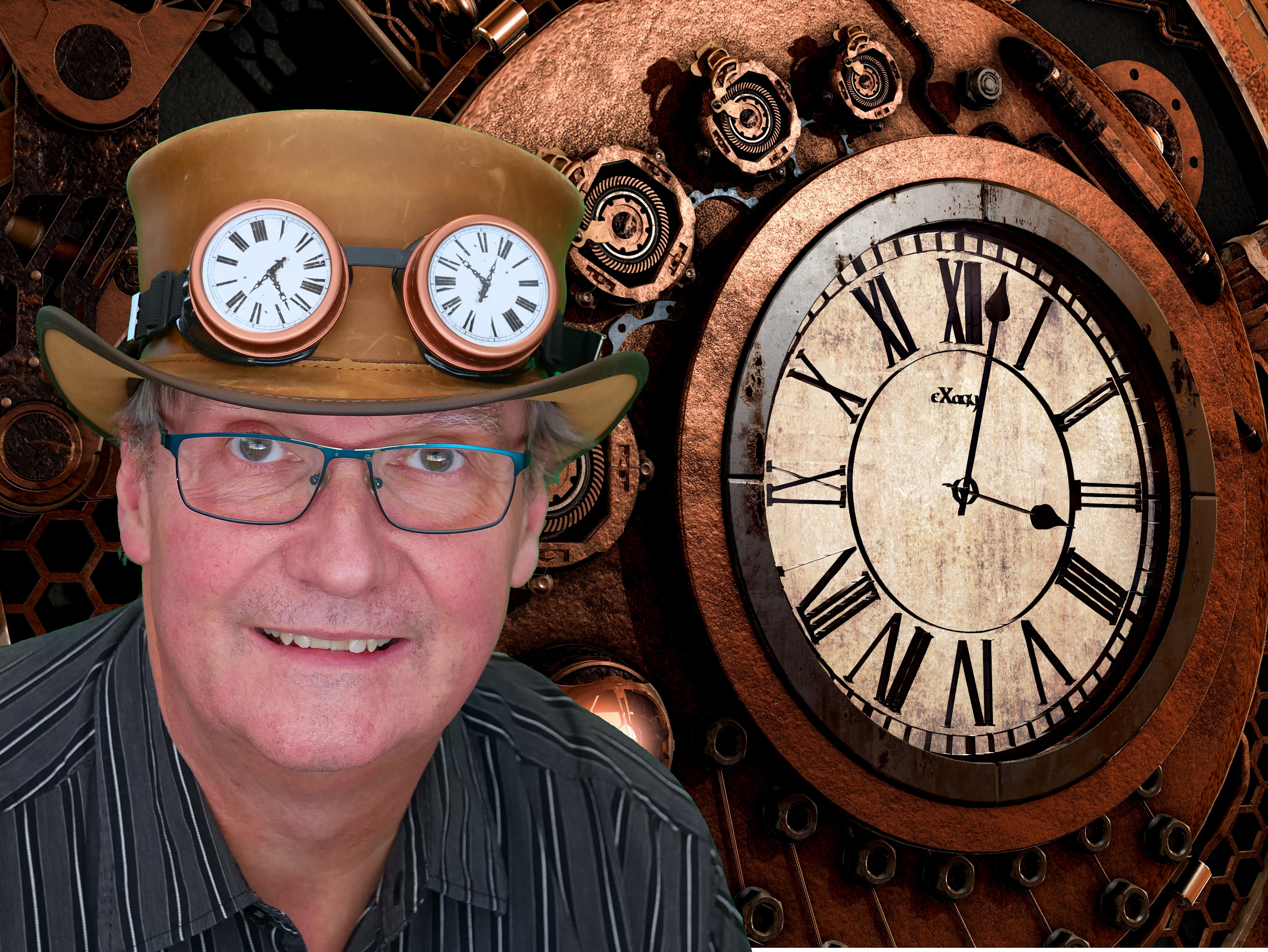 Time Management Speaker - Garland Coulson - Captain Time
