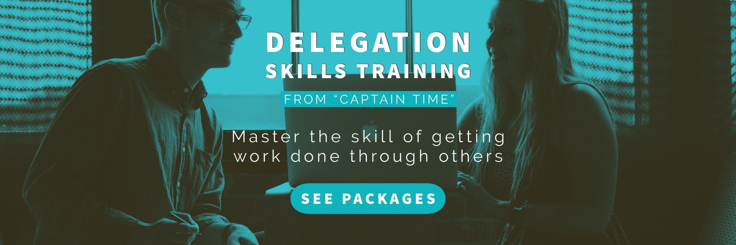 delegation skills training