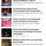 Using Feedly To Create Your Own Newspaper