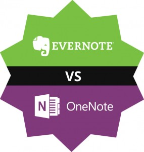 Onenote vs Evernote