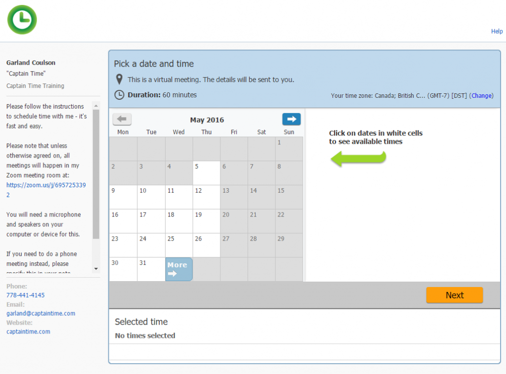 meeting scheduler review: scheduleonce
