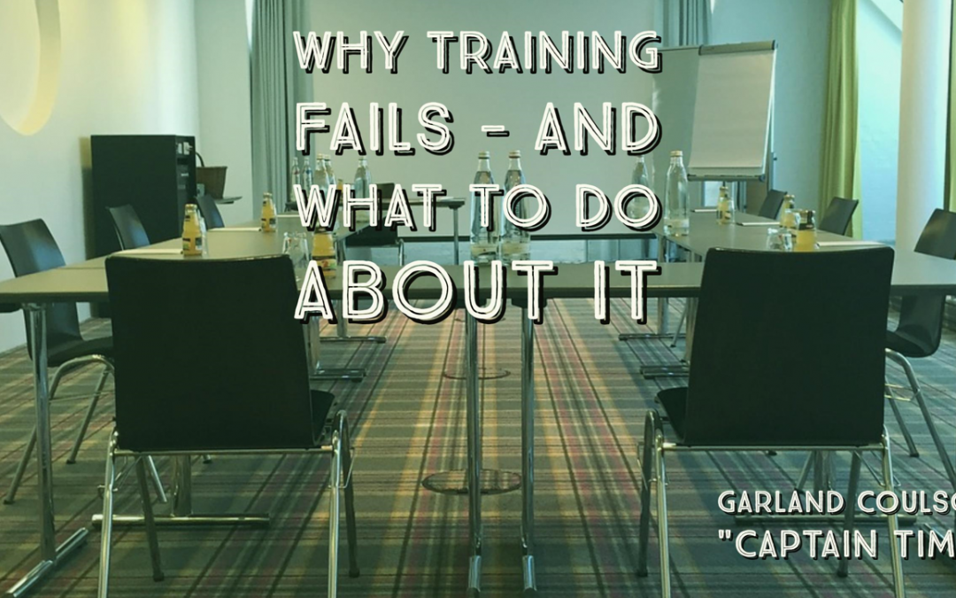 Why Training Fails