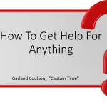 How to Get Help for Anything