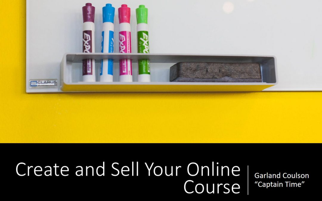 Nanaimo Workshop: Create & Sell Your Own Online Course
