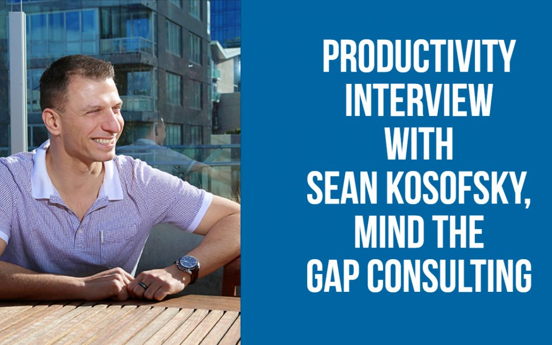 Productivity Interview With Sean Kosofsky