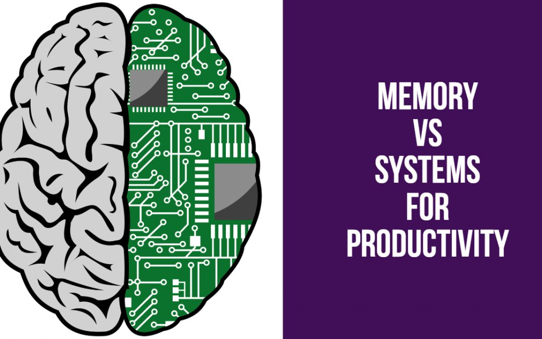Memory Vs Systems for Productivity