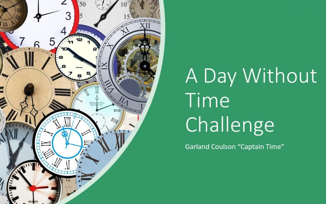 Day Without Time Challenge