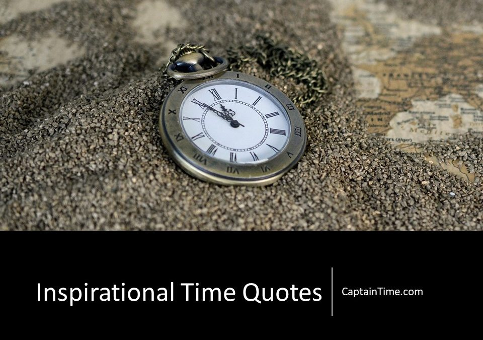 Inspirational Time Quotes