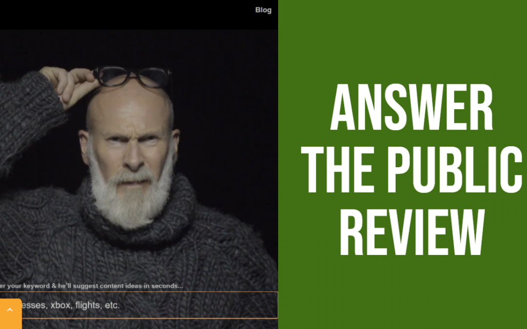 Answer the Public Tool Review