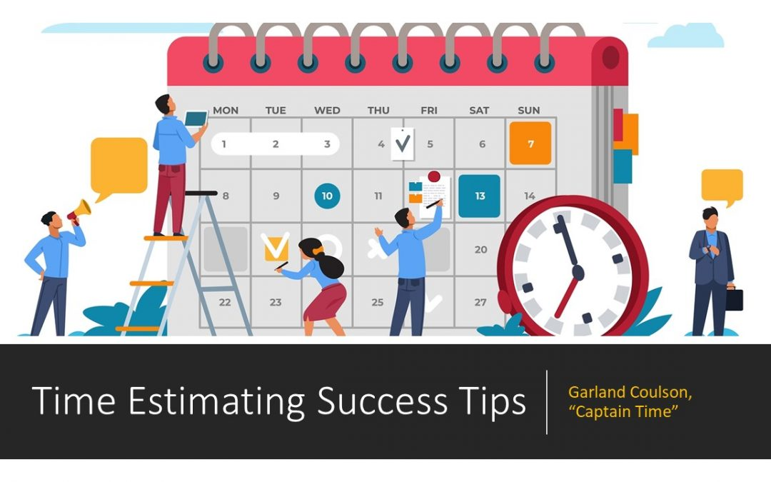 Time Estimating Success Tips for Work and School