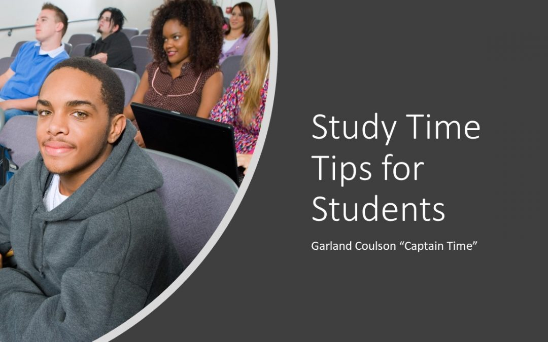 Study Time Tips for Students