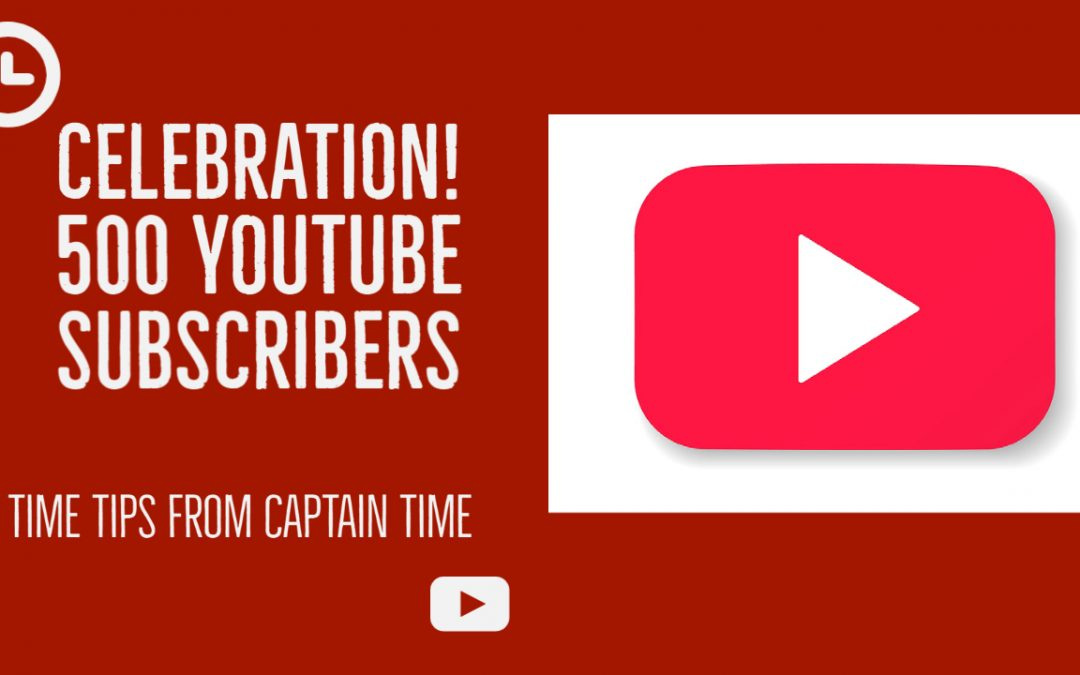 500 YouTube Subscribers Celebration